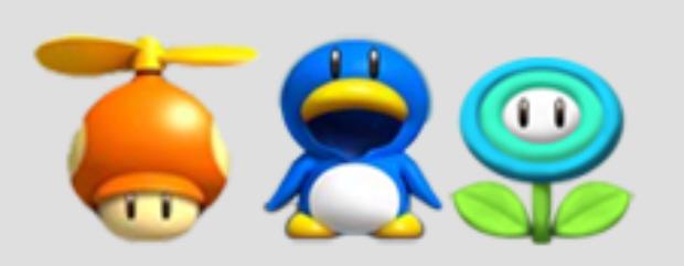 Power Ups New Super Mario Bros Wii Artwork
