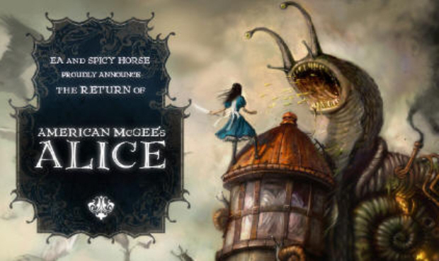 Return of American McGee's Alice artwork