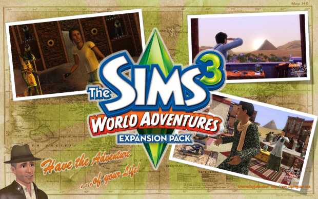 Sims 3 World Adventures wallpaper
