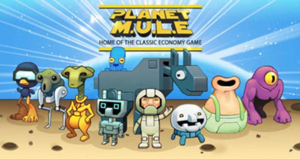 Planet M.U.L.E. screenshot artwork