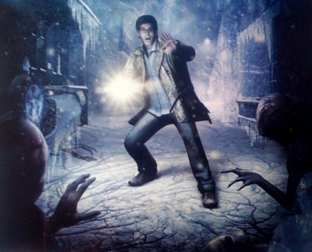 Silent Hill: Shattered Memories snow wallpaper