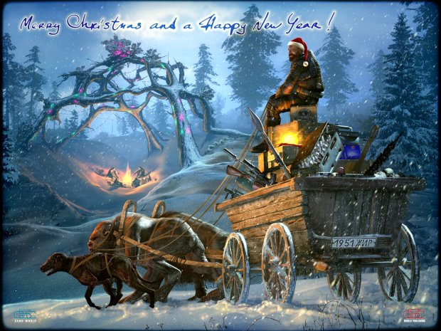 STALKER: Call of Pripyat wallpaper - Merry Christmas-Happy New Year!