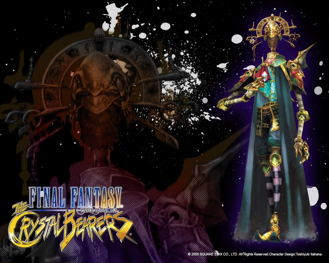Amidatelion Final Fantasy Crystal Bearers Wallpaper