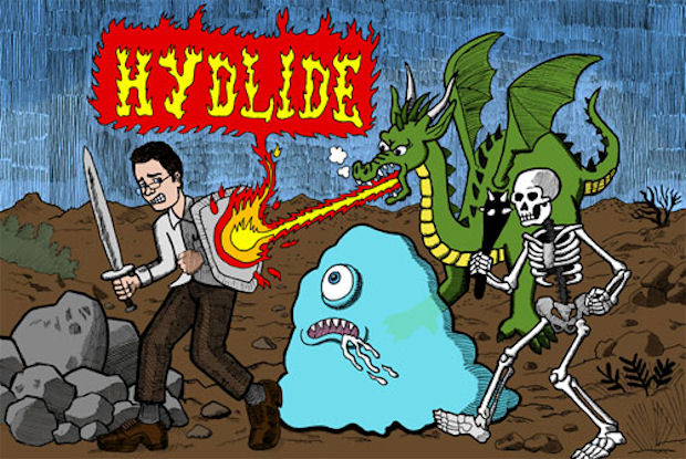 Hydlide review by AVGN