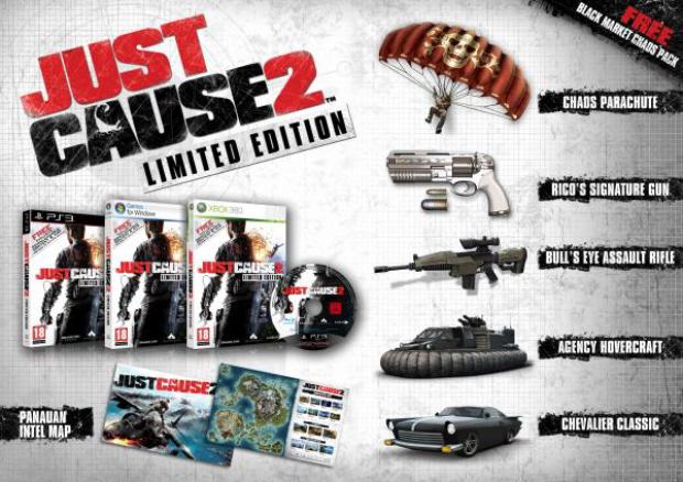 Just Cause 2 Pre-Order Bonus trailer