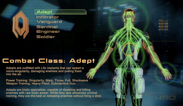 Mass Effect 2 walkthrough with classes screenshot