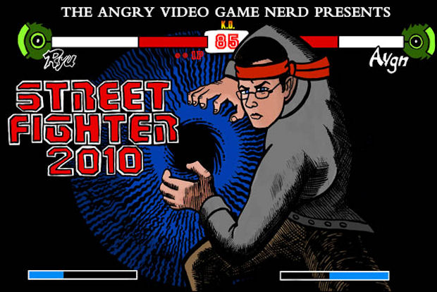 Angry Video Game Nerd Reviews Street Fighter 2010 Video Games