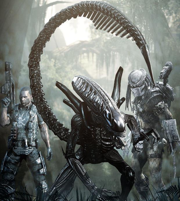 Alien walkthrough species artwork