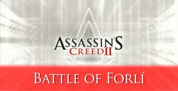 Assassins Creed 2 Battle of Forli titlescreen