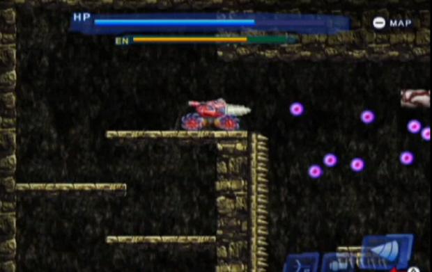 Blaster Master 3 Overdrive screenshot (WiiWare)