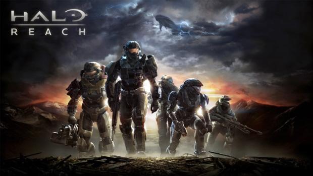 Halo: Reach Noble Team artwork