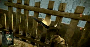 Battlefield: Bad Company 2 destroy building with knife glitch screenshot
