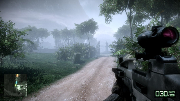 Battlefield: Bad Company 2 screenshot. SecuROM being removed via patch