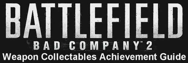 Battlefield: Bad Company 2 Weapons Collectables Guide logo