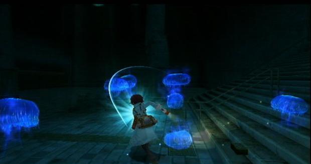Fragile Dreams enemy fighting screenshot