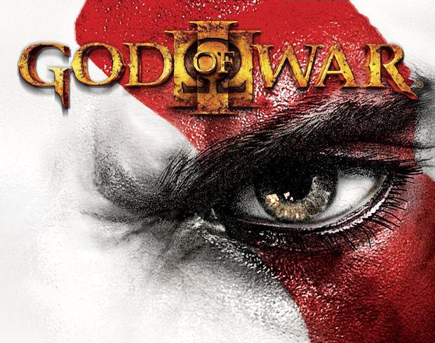 God of War 3 walkthrough logo Kratos eye