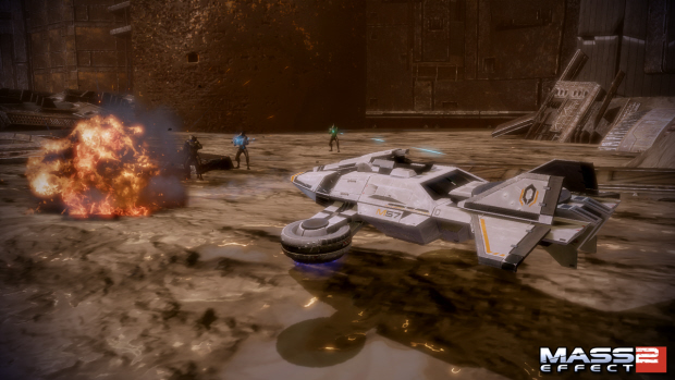 Mass Effect 2 Firewalker walkthrough screenshot