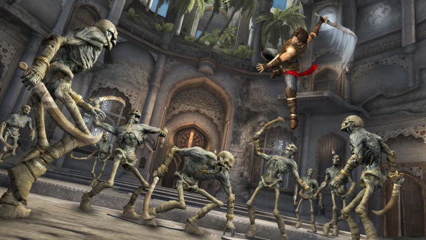 Prince of Persia: The Forgotten Sands pre-order bonus arena mode