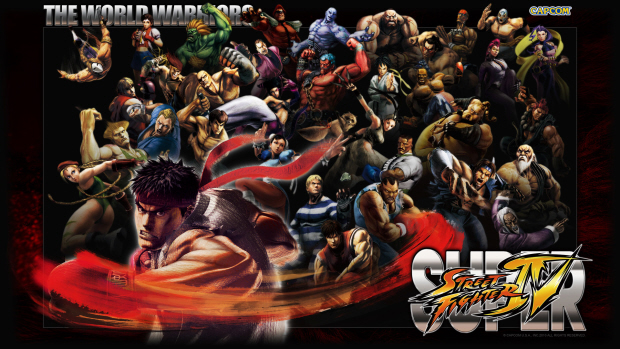 Super Street Fighter IV all characters wallpaper World Warriors