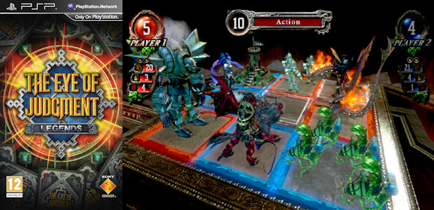Win The Eye of Judgment Legends PSP card game