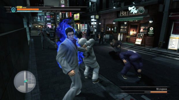 Yakuza 3 walkthrough screenshot