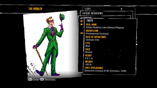 Batman: Arkham Asylum Challenges Trophies walkthrough artwork