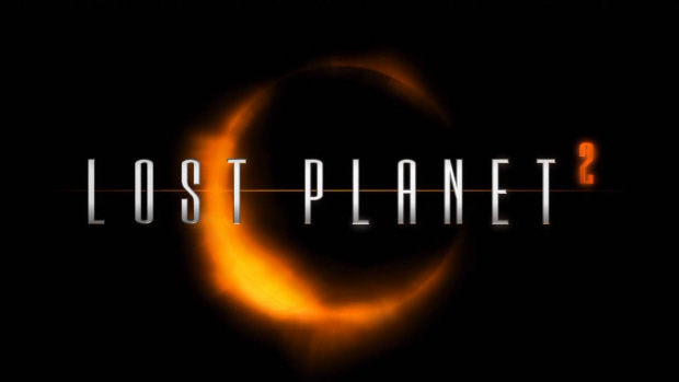 Lost Planet 2 logo wallpaper