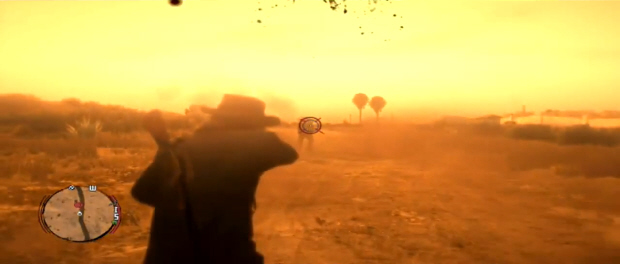 Red Dead Redemption weapons overview screenshot