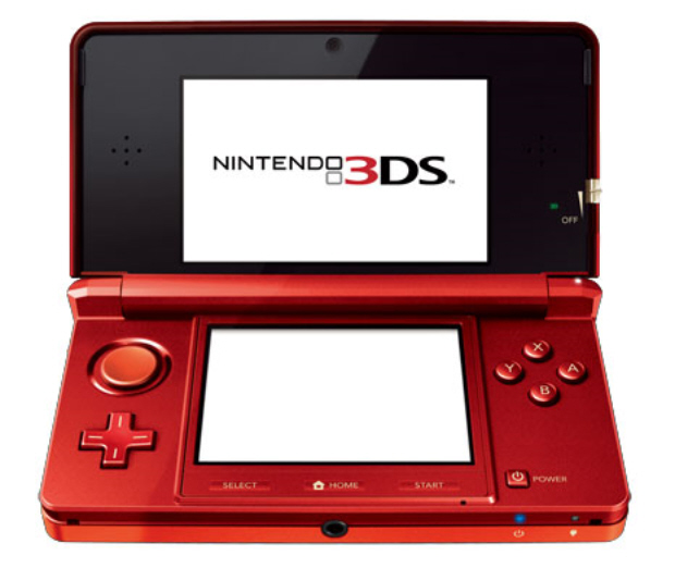 3DS Red Color games line-up announced third and first party