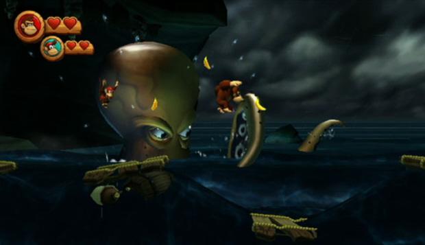 Donkey Kong Country Returns screenshot (E3 2010)