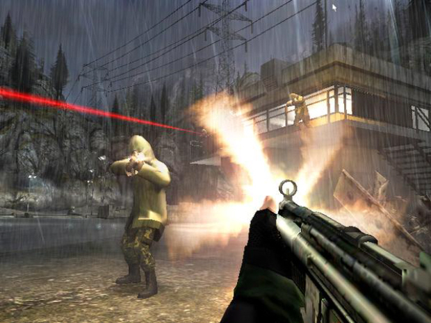 GoldenEye 007 Wii remake screenshot. Announced at E3 2010 from Activision