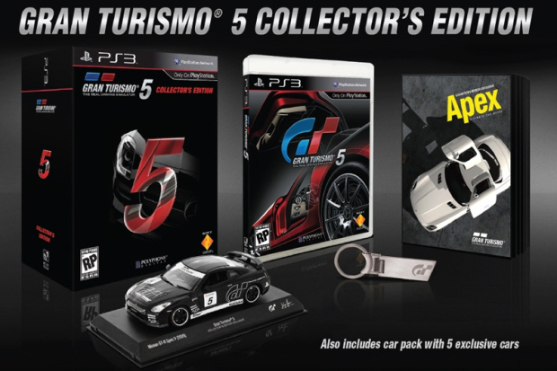 Gran Turismo 5 Collector's Edition. Release date November 2, 2010 exclusively for PS3