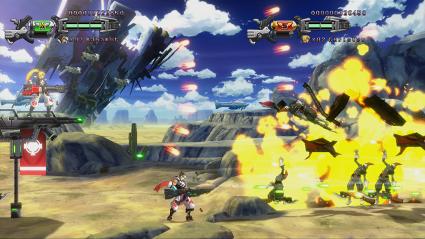 Hard Corps: Uprising screenshot