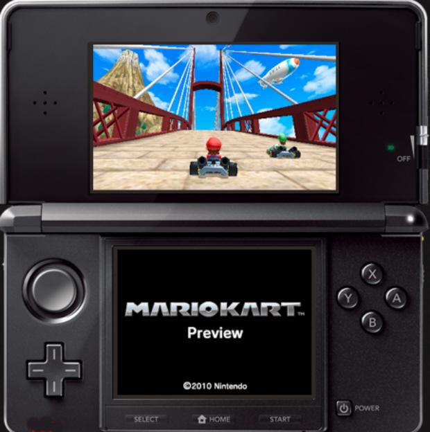 Mario Kart 3DS screenshot Wii Sports Wuhu Island level