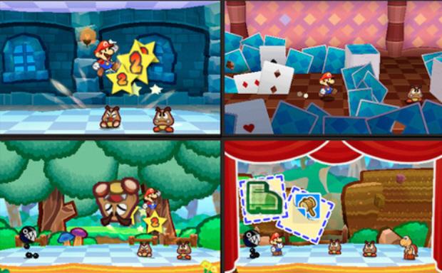 Paper Mario 3DS gameplay screenshots revealed