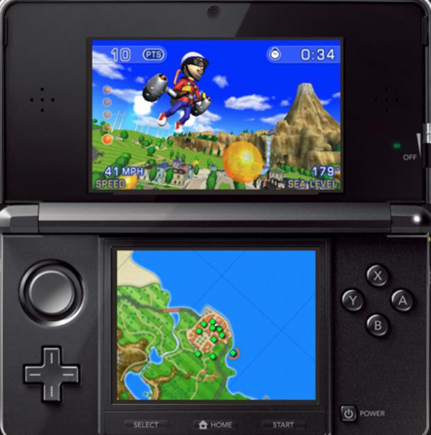 Pilotwings Resort 3DS screenshot