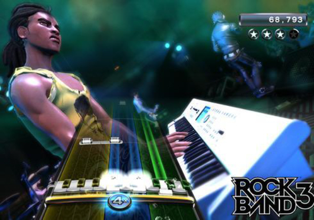 Rock Band 3 Keyboard Screenshot