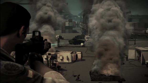 SOCOM 4 screenshot. Supports PlayStation Move