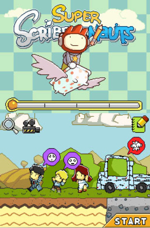 Super Scribblenauts gameplay screenshot (DS)