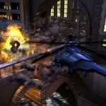 Crackdown 2 helicopter explosion wallpaper