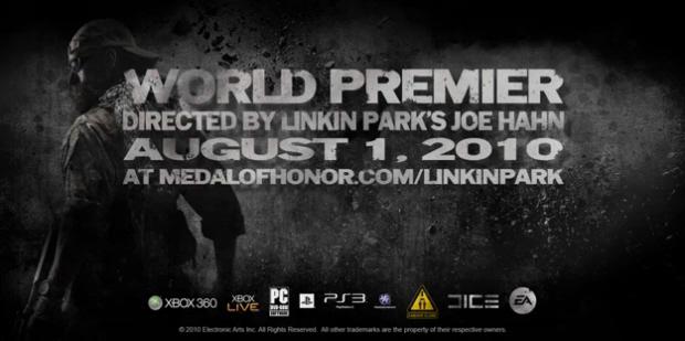 Medal of Honor Linkin Park Catalyst release date premier artwork
