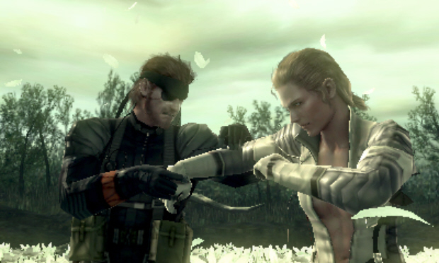 Metal Gear Solid 3DS screenshot Naked Sample