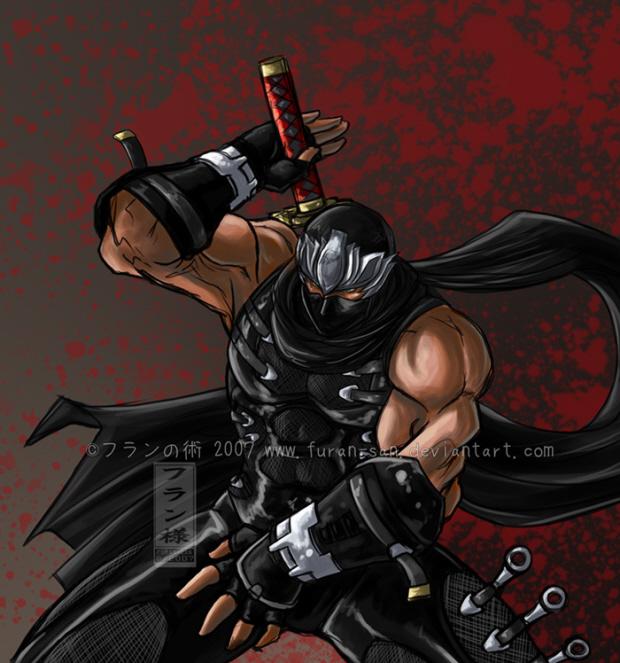 Ninja Gaiden 3DS screenshot