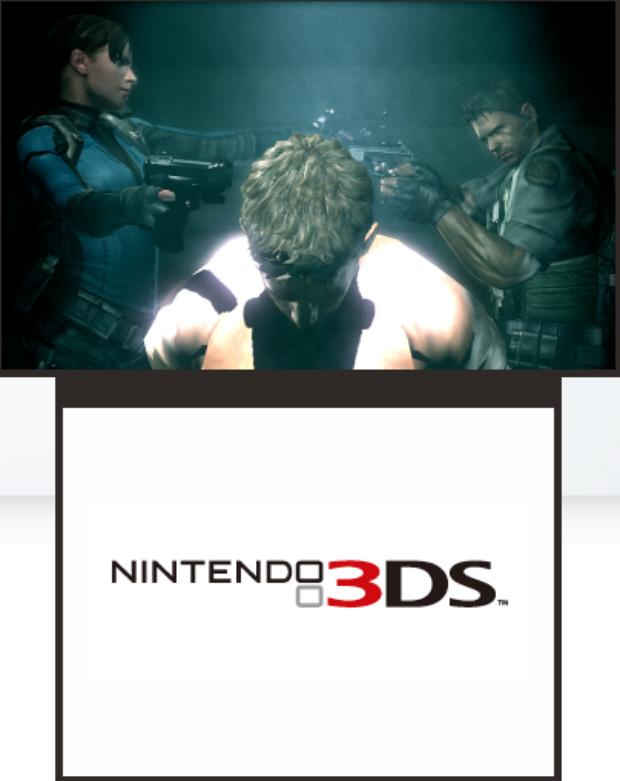 Resident Evil Revelations 3DS screenshot