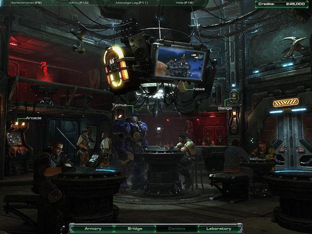 StarCraft 2's bar has an arcade machine with a bonus mini-game