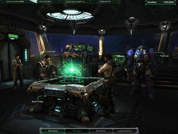 StarCraft 2 Hyperion bridge screenshot