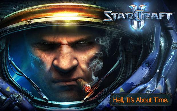 StarCraft 2 walkthrough artwork