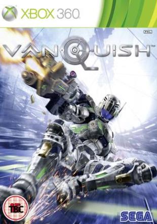 Vanquish release date is October 22, 2010. Japanese box artwork (Xbox 360)