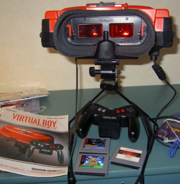 Virtual Boy 3DS games could be coming. Love me. Virtual Booooy