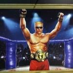 Duke Nukem the fight champion. Forever artwork. COME GET SOME